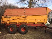 Peecon KW18000 kipwagen met sie
