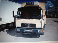 1998 MAN 10.163 isothermal truc