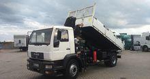 2003 MAN LE 18 280 dump truck