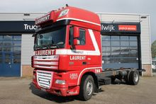 2007 DAF XF105 410 chassis truc