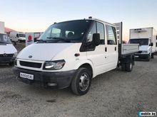 2002 FORD Transit flatbed truck