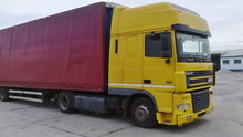 Used 2004 DAF tracto