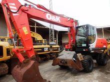 2004 O&K MH 6.6 wheel excavator