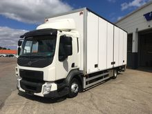 2014 VOLVO FL 5 closed box truc
