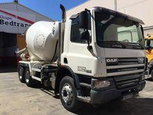 2007 DAF CF75.310 concrete mixe