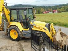 1995 FERMEC MF 750 backhoe load