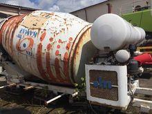 2007 KAMAZ concrete mixer truck