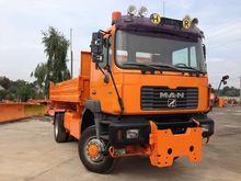 1996 MAN 19.293 dump truck