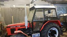 1991 ZETOR 7745 wheel tractor
