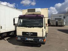 1998 MAN 10.163, refrigerated t