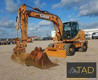 2004 CASE WX165 wheel excavator