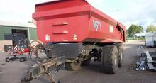 2008 VGM GK20 tipper trailer