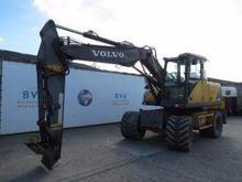 2001 VOLVO EW140 wheel excavato