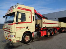 2014 DAF CF85 cable system truc
