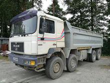 1998 MAN 35.403 FVK dump truck