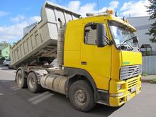 1998 VOLVO FH 12 6x4 tipper and