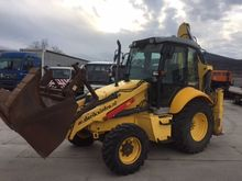 2007 HOLLAND B110 wheel loader