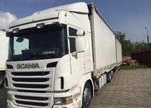 2005 SCANIA 2x775m truck curtai