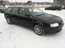 2003 AUDI A6 for parts. Darbo d