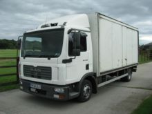 2006 MAN 7-153 closed box truck