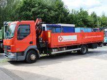 2005 DAF 45.220 flatbed truck