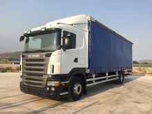 SCANIA R 270 truck curtainsider