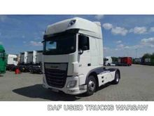 2014 DAF XF 460 FT tractor unit