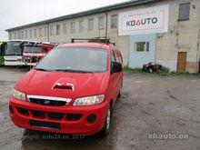 2002 HYUNDAI H1 closed box van
