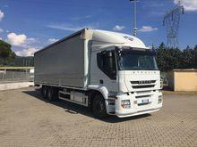 IVECO STRALIS 260S36 tilt truck