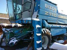 2001 BIZON Z-110 combine-harves