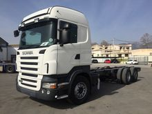 Used SCANIA chassis