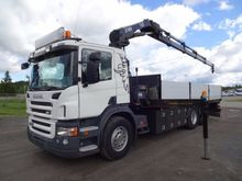 2009 SCANIA P320 flatbed truck