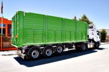 COVERED tipper semi-trailer