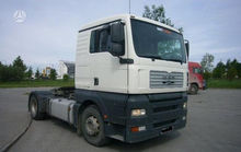 MAN TG 360A, semi-trailer truck