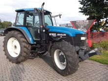 1997 HOLLAND 8160 wheeled tract
