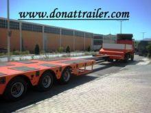 DONAT Extendable 4 Axle Lowbed
