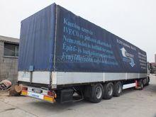 KRONE SDP 27 tilt semi-trailer