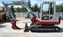 2007 TAKEUCHI TB 145 mini digge