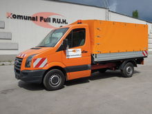 VOLKSWAGEN CRAFTER tilt truck