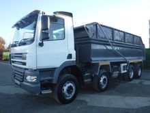 DAF CF85 dump truck by auction