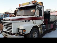 1988 SCANIA T112 4x2 tipper +cr