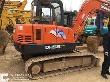 2012 DOOSAN DH55 tracked excava