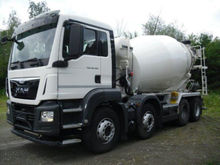 2015 MAN 32.400 concrete mixer