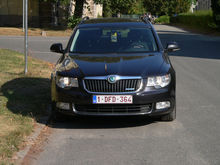 2012 SKODA Superb Combi GreenLi