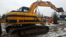 2012 JCB JS220LC tracked excava