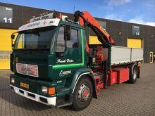 1999 MAN 18.264 flatbed truck