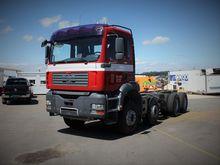 2005 MAN TGA 35.430 chassis tru