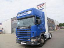 2001 SCANIA R124LA tractor unit