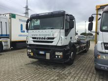 IVECO STRALIS 260S45 hook lift