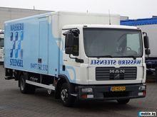 2006 MAN Tgl closed box truck